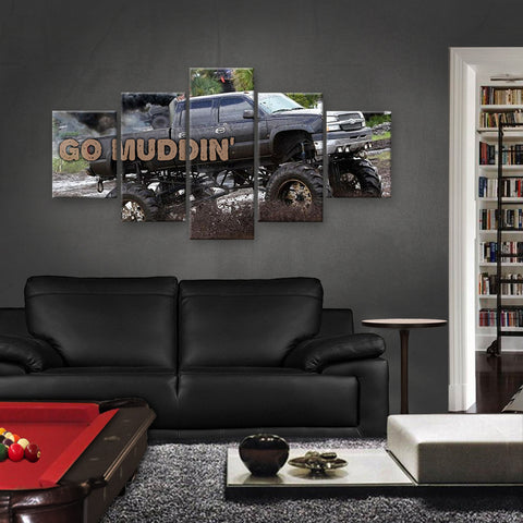 HD PRINTED LIMITED EDITION MUDDING CANVAS (MUD159001)