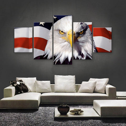 HD PRINTED LIMITED EDITION AMERICAN FLAG CANVAS (AMC15017)