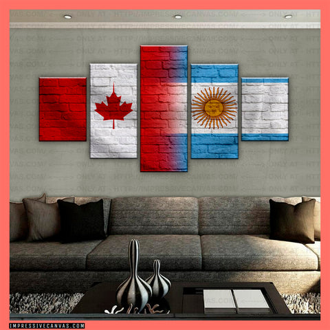 HD PRINTED LIMITED EDITION CANADIAN - ARGENTINE (ARGENTINA) CANVAS (CANAR210001)