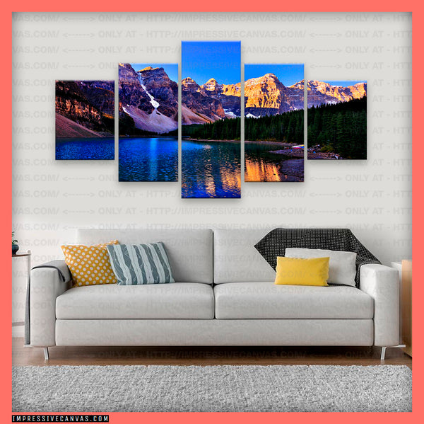 HD PRINTED LIMITED EDITION BANFF NATIONAL PARK, CANADA CANVAS (BANFF620001)