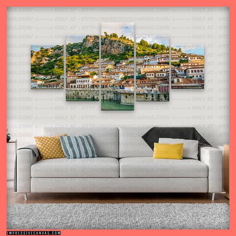 HD PRINTED LIMITED EDITION BERAT, ALBANIA CANVAS (BRTAL710002)