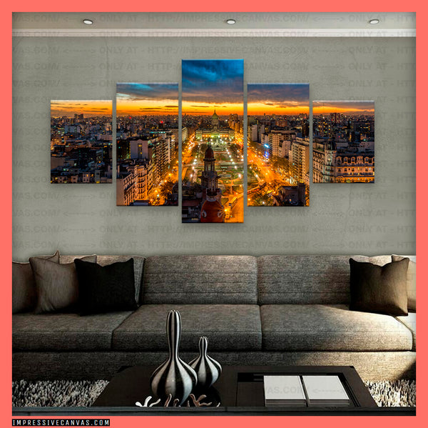 HD PRINTED LIMITED EDITION BUENOS AIRES, ARGENTINA CANVAS (BNARS740001)