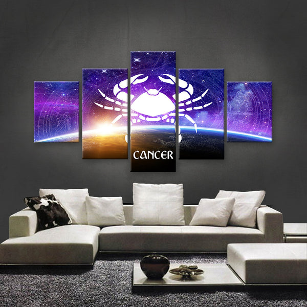 HD PRINTED LIMITED EDITION ZODIAC SIGN CANCER CANVAS (ZSIGN310005)