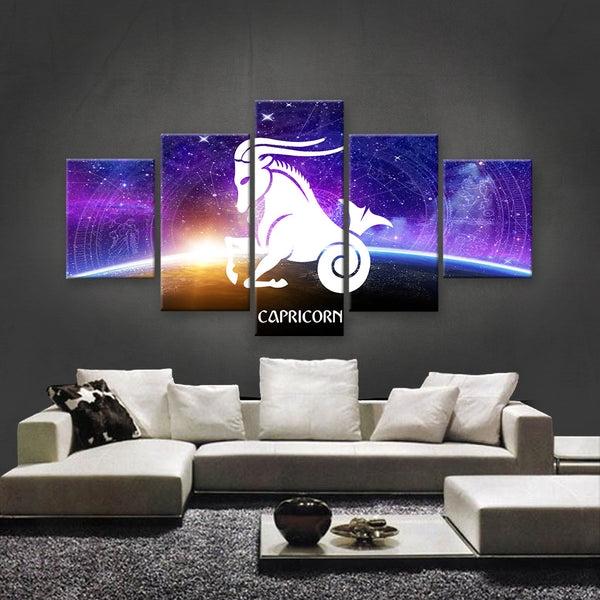 HD PRINTED LIMITED EDITION ZODIAC SIGN CAPRICORN CANVAS (ZSIGN310007)
