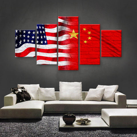 HD PRINTED LIMITED EDITION AMERICAN - CHINESE (CHINA) CANVAS (AMCH15003)