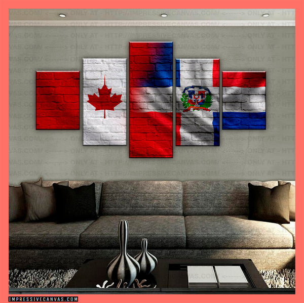 HD PRINTED LIMITED EDITION CANADIAN - DOMINICANS (DOMINICAN REPUBLIC) CANVAS (CANDOB210007)