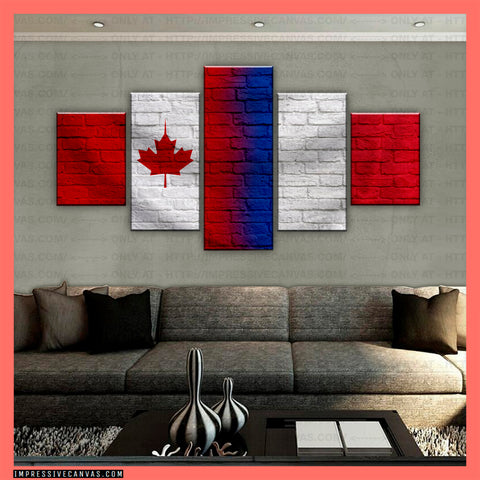 HD PRINTED LIMITED EDITION CANADIAN - FRENCH (FRANCE) CANVAS (CANFR210008)