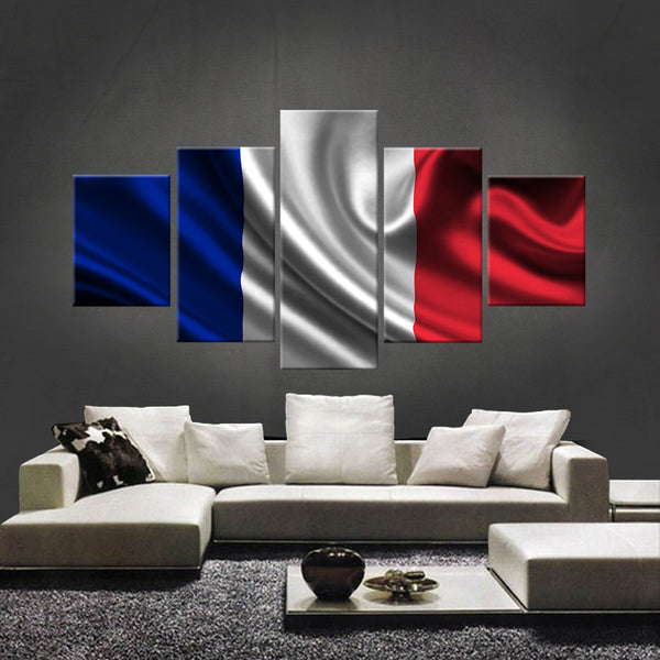 HD PRINTED LIMITED EDITION FRENCH (FRANCE) FLAG CANVAS (FLAG120022)