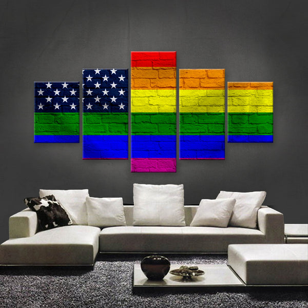 HD PRINTED LIMITED EDITION LGBTQ CANVAS (LGBTQ310006)