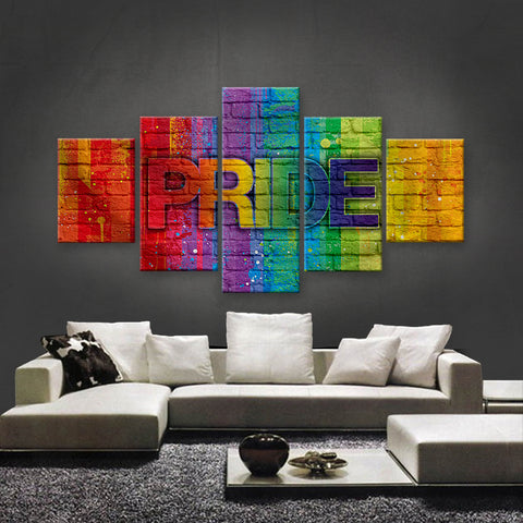 HD PRINTED LIMITED EDITION LGBTQ CANVAS (LGBTQ310007)