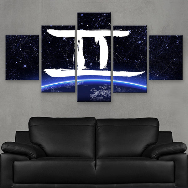 HD PRINTED LIMITED EDITION ZODIAC SIGN GEMINI CANVAS (ZSIGN310010)
