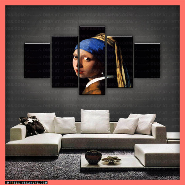 HD PRINTED LIMITED EDITION GIRL WITH A PEARL EARRING CANVAS (ARTCA150003)