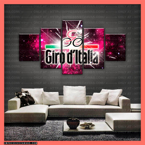 HD PRINTED LIMITED EDITION GIRO D'ITALIA CANVAS (GDIC150001)
