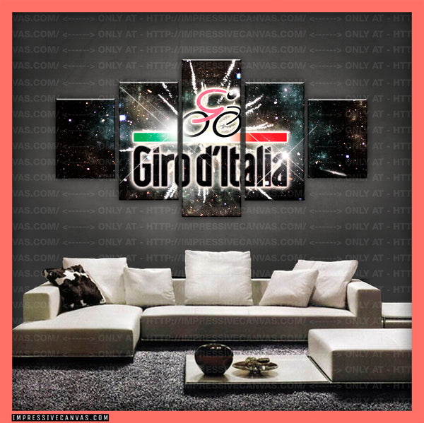 HD PRINTED LIMITED EDITION GIRO D'ITALIA CANVAS (GDIC150002)
