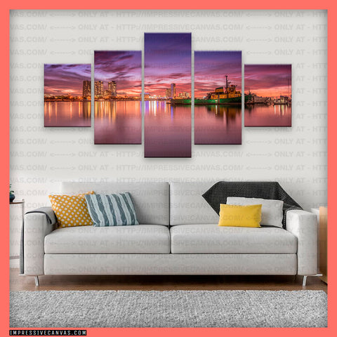 HD PRINTED LIMITED EDITION GOLD COAST, QUEENSLAND, AUSTRALIA CANVAS (GCQLD810001)