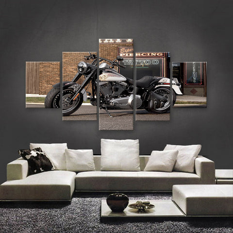 HD PRINTED LIMITED EDITION BIKER CANVAS (154006)