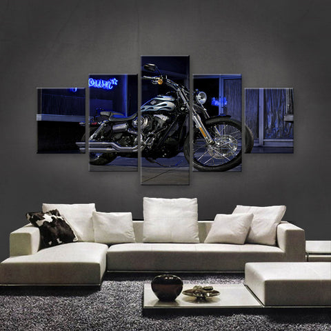 HD PRINTED LIMITED EDITION BIKER CANVAS (154007)