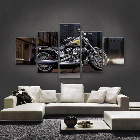 HD PRINTED LIMITED EDITION BIKER CANVAS (154008)