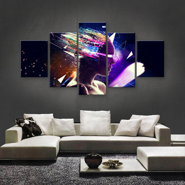 HD PRINTED LIMITED EDITION ABSTRACT ART CANVAS (ABT170001)