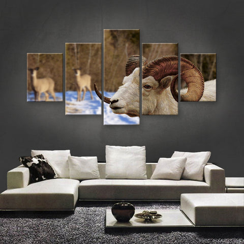HD PRINTED LIMITED EDITION ANIMAL CANVAS (ANC159026)