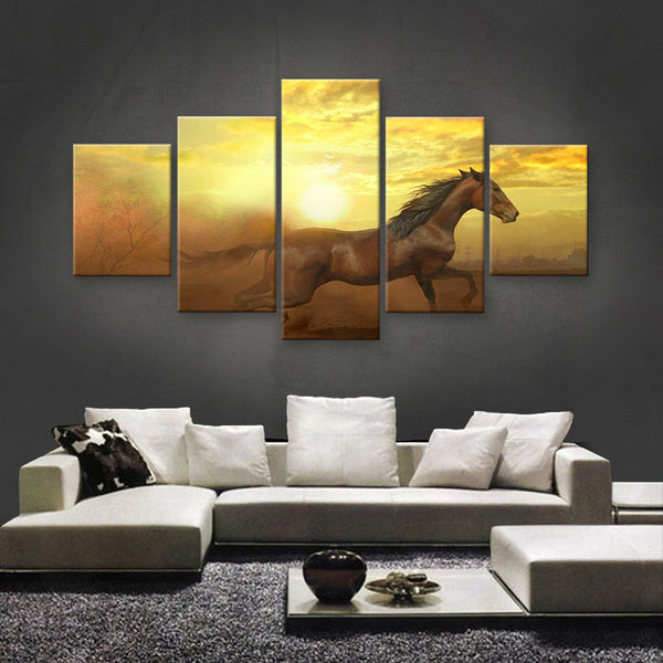 HD PRINTED LIMITED EDITION ANIMAL CANVAS (ANC159032)
