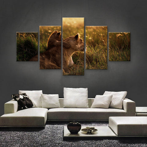 HD PRINTED LIMITED EDITION ANIMAL CANVAS (ANC159046)