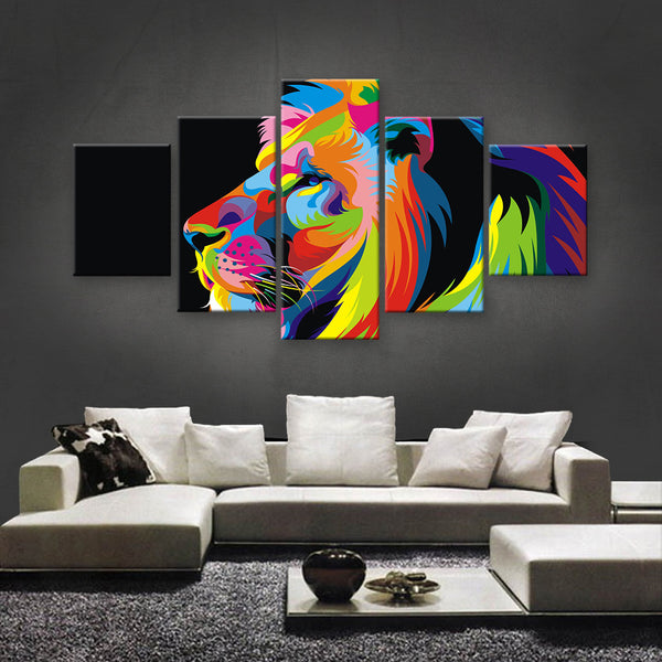 HD PRINTED LIMITED EDITION ANIMAL CANVAS (ANC159047)