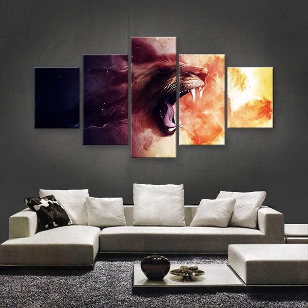 HD PRINTED LIMITED EDITION ANIMAL CANVAS (ANC159048)