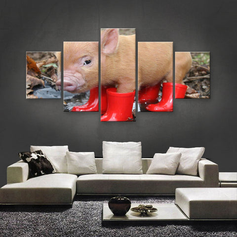 HD PRINTED LIMITED EDITION ANIMAL CANVAS (ANC159072)