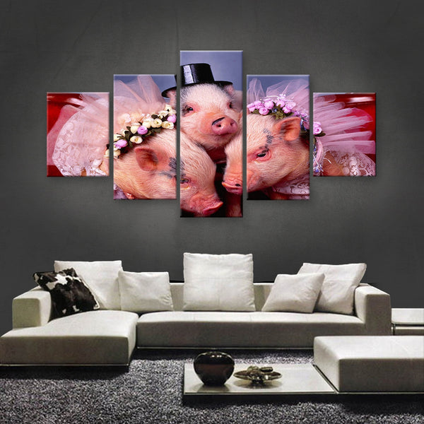 HD PRINTED LIMITED EDITION ANIMAL CANVAS (ANC159069)