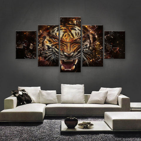 HD PRINTED LIMITED EDITION ANIMAL CANVAS (ANC159079)