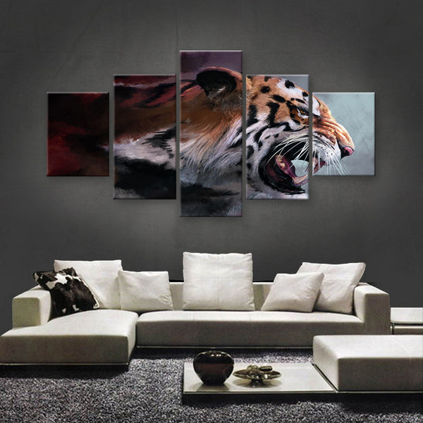 HD PRINTED LIMITED EDITION ANIMAL CANVAS (ANC159081)