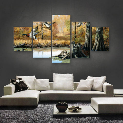 HD PRINTED LIMITED EDITION ANIMAL CANVAS (ANC159086)
