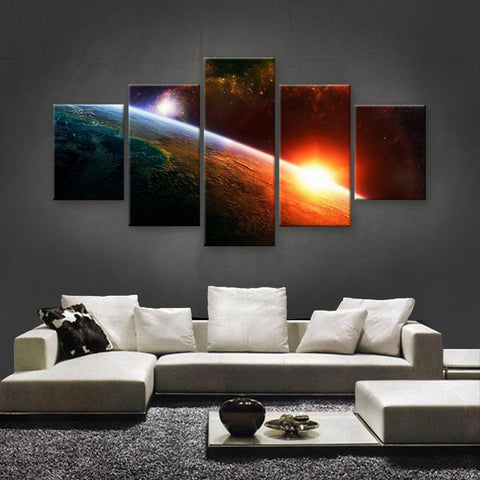 HD PRINTED LIMITED EDITION ASTRONOMY CANVAS (AST159001)