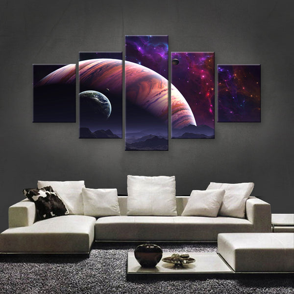 HD PRINTED LIMITED EDITION ASTRONOMY CANVAS (AST159007)