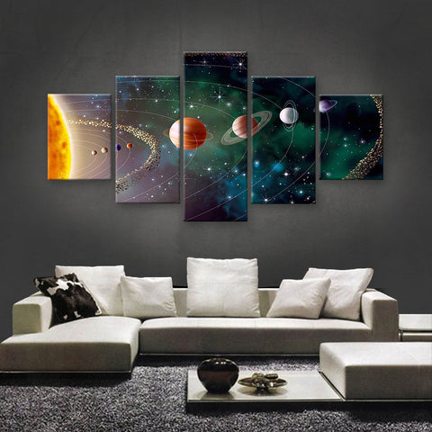 HD PRINTED LIMITED EDITION ASTRONOMY CANVAS (AST159011)