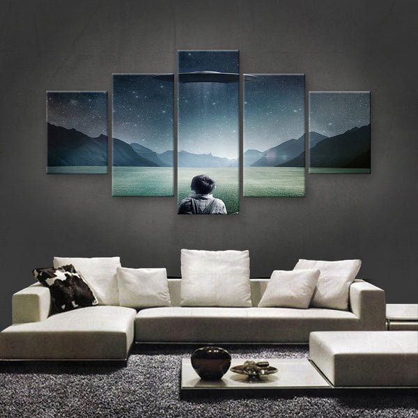 HD PRINTED LIMITED EDITION ASTRONOMY CANVAS (AST159012)