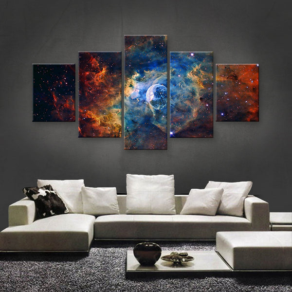 HD PRINTED LIMITED EDITION ASTRONOMY CANVAS (AST159014)