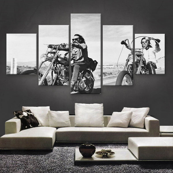 HD PRINTED LIMITED EDITION BIKER CANVAS (154020)