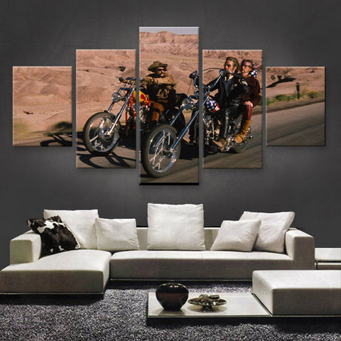 HD PRINTED LIMITED EDITION BIKER CANVAS (154022)