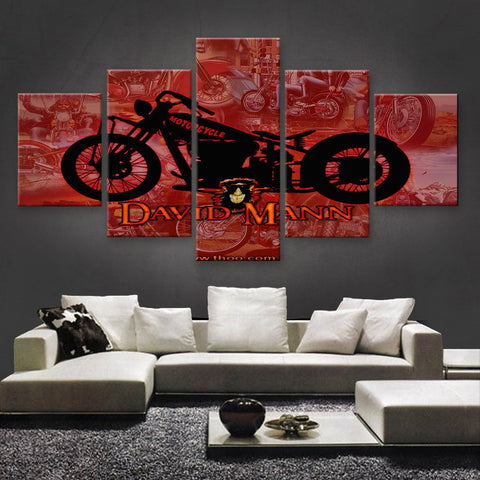 HD PRINTED LIMITED EDITION BIKER CANVAS (154025)