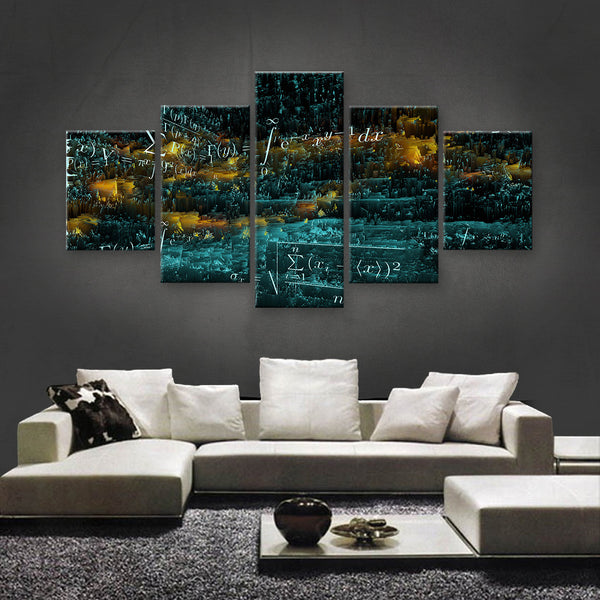 HD PRINTED LIMITED EDITION BRILLIANT MINDS CANVAS (BMC170002)
