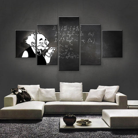 HD PRINTED LIMITED EDITION BRILLIANT MINDS CANVAS (BMC170012)