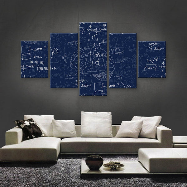 HD PRINTED LIMITED EDITION BRILLIANT MINDS CANVAS (BMC170015)