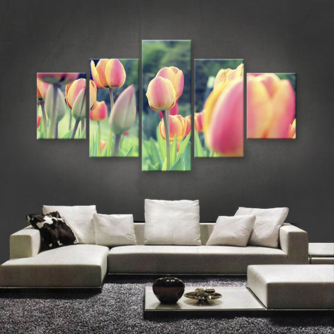 HD PRINTED LIMITED EDITION FLOWER CANVAS (FWC155010)