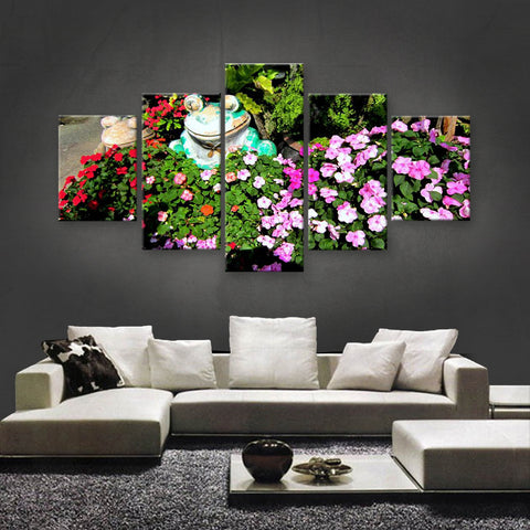 HD PRINTED LIMITED EDITION FLOWER CANVAS (FWC155011)