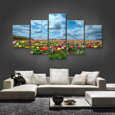 HD PRINTED LIMITED EDITION FLOWER CANVAS (FWC155013)
