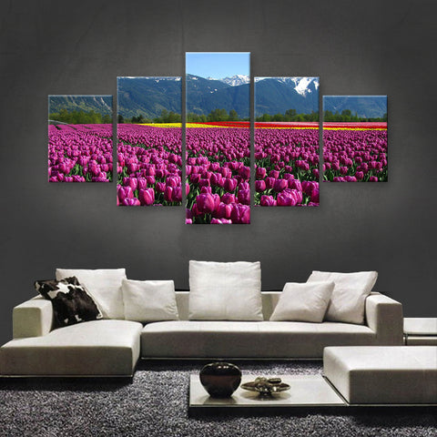HD PRINTED LIMITED EDITION FLOWER CANVAS (FWC155014)