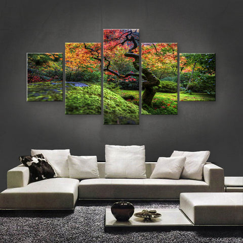 HD PRINTED LIMITED EDITION FLOWER CANVAS (FWC155016)