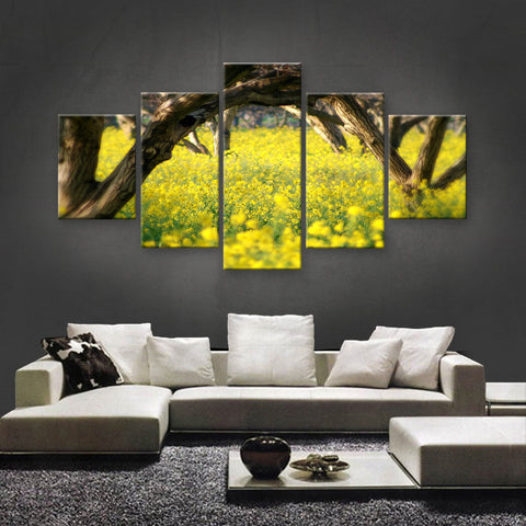 HD PRINTED LIMITED EDITION FLOWER CANVAS (FWC155020)
